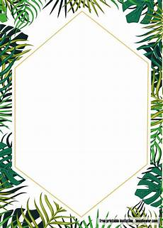 Free Editable Invitation Templates Free Printable Tropical Baby Shower Invitation Template