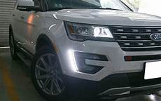 2016 Explorer Fog Lights 2016 17 Ford Explorer Oem Fit Led Daytime Running Light
