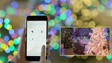 National Tree Music Match Bluetooth Light System In Green Emio Smart Christmas Music Lights App Keepyourmindclean