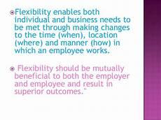 Flexibility In The Workplace Workplace Flexibility