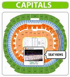 Washington Capitals Seating Chart With Rows Washington Capitals Seating Chart Hockey Game