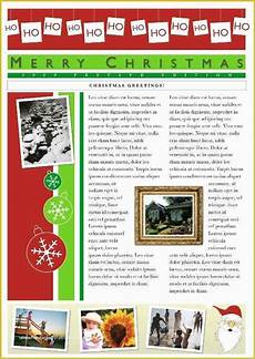 Christmas Family Newsletter Templates Free 48 Family Christmas Newsletter Template Free