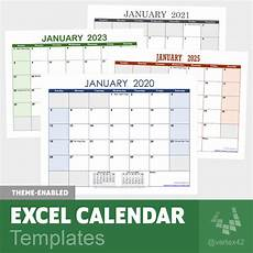 Excel Template Calendar Excel Calendar Template For 2020 And Beyond