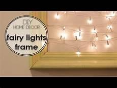 Fairy Lights Picture Frame Diy Wall Art Fairy Lights Frame מסגרת נורות לסלון