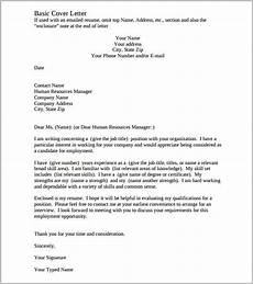 Printable Cover Letter Template Cover Letter Template 17 Free Word Pdf Documents