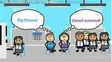 Synonym Detail Oriented Big Picture Vs Detail Oriented Thinking Video Amp Lesson