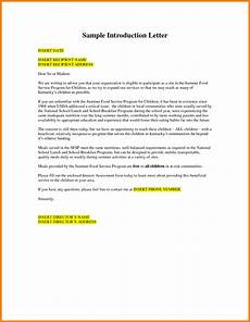 Formal Letters Introduction 5 Formal Introduction Letter Introduction Letter