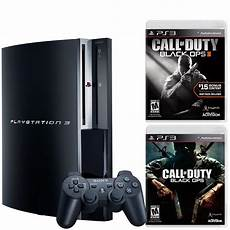 ps3 console gamestop playstation 3 black ops blast from the past system bundle