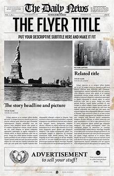 Newspaper Outline For Word Old Style Daily News Jpg Newspaper Template