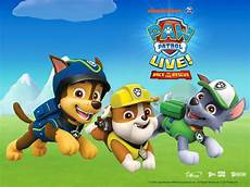 nickalive paw patrol live race to the rescue announces