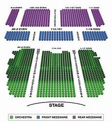 Lafontaine Theater Seating Chart Lunt Fontanne Theatre Large Broadway Seating Charts