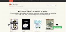 Publisher Themes 25 Best Wordpress Themes For Authors Selling Books Online