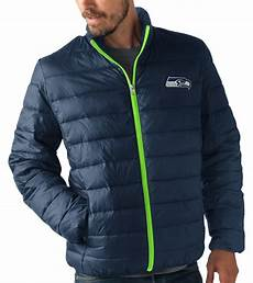 seahawks coats for seattle seahawks s nfl quot skybox quot zip packable