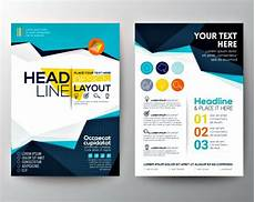 Free Publisher Flyer Templates Free 24 Free Brochure Design Examples In Vector Eps