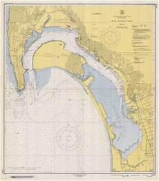 San Diego Bay Depth Chart Nautical Charts Online Chart 5107 9 1948 Ca 1948 San