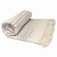 100 cotton luxury thermal woven throw sofa bed
