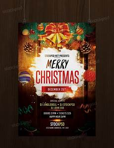 Free Christmas Flyer Psd Download Merry Christmas Free Psd Flyer Template