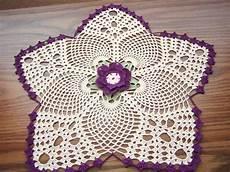 crochet doilies crochet doilies naperon au crochet sali bambo fashion