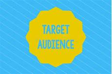 Another Word For Target Audience Word Writing Text Target Audience Business Concept For