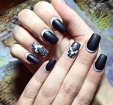 Black Nail Design Ideas 24 Shellac Nail Art Designs Ideas Design Trends