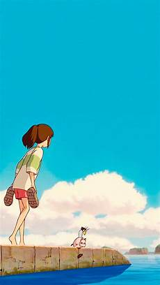 ghibli wallpaper iphone studio ghibli gifs spirited away phone wallpapers