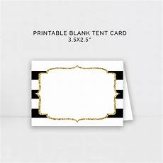 tent cards template retirement kate spade black and gold food tent template kate