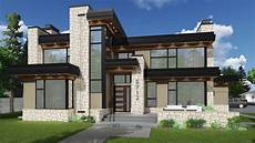 impeccable modern house plan 81687ab architectural