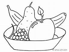 Gratis Malvorlagen Obst Obstschale Ausmalbild 187 Gratis Ausdrucken Ausmalen