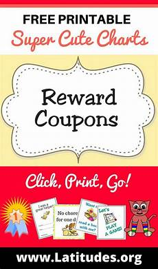 Coupons For Free Printable Reward Coupons For Teachers Amp Students