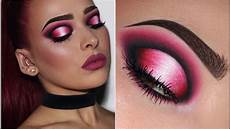 black pink white ombr 233 halo eye makeup tutorial