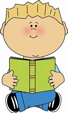 kid reading book clipart free on clipartmag