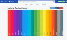 Color Tool Material Design Tools For Generating Material Design Color Palettes 187 Css