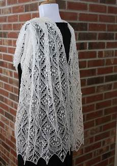 all knitted lace pattern release quatrefoil lace scarf