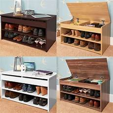 budget shoe rack cabinet lift up top storage stores up to