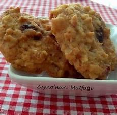 yulaflı kurabiye kuru meyveli ve şekersiz zeyno