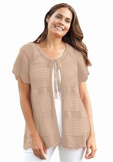 plus size sleeve tops sweaters plus size sleeve crochet knit cardigan with images