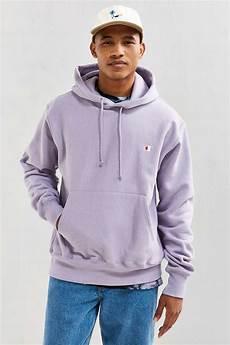 Light Purple Hoodie Mens Lyst Champion Reverse Weave Hoodie Sweatshirt For Men