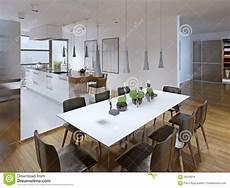 cucina e sala da pranzo progettazione della cucina moderna con sala da pranzo