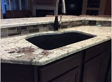 White Galaxy Granite Countertops Installation