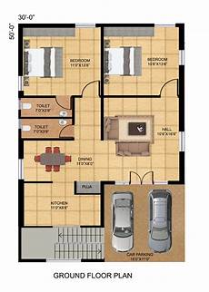 2bhk house plan facing autocad design pallet