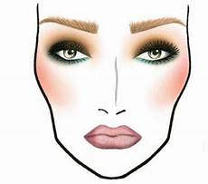 Face Chart Brown Brown And Green Color Combinations Makeup Face Charts