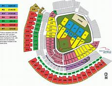 Great American Ballpark Seating Chart Row Numbers Great American Ballpark Seating Chart With Seat Numbers