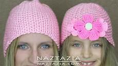 diy learn how to crochet easy beginner crocheted hat