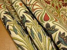 fabric crafts upholstery nouveau thick designer jacquard curtain
