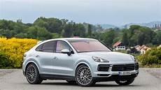 2020 porsche cayenne 2020 porsche cayenne coupe drive review splitting