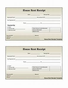 home rent receipt template free house rental invoice house rent receipt template