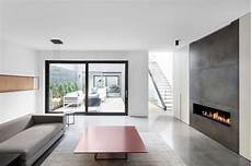 Minimalist Home A Minimalist Contemporary Home With Bold Accents