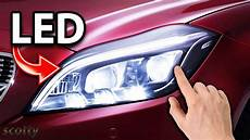 White Led Lights For Cars Putting Brighter Led Headlights On Your Car Youtube