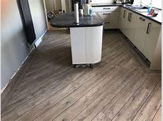 Karndean van gogh Luxury vinyl tile floorings colour Distressed oak with 3mm DS07 design strips
