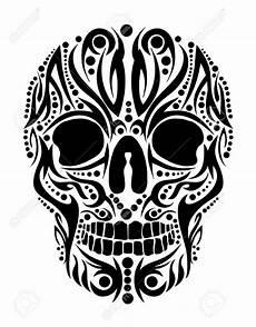 Tribal Skull Designs 40 Tribal Skull Tattoos Ideas